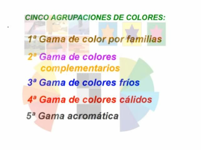 Tutorial teor a del color 2012 - Gama de colores calidos ...